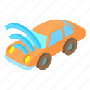 car, cartoon, fi, internet, router, wi, wireless icon