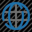 direction, global, globe, gps, location, navigation, world icon