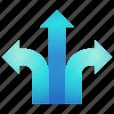 direction, left, navigation, right