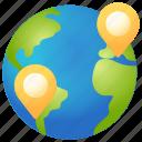 direction, earth, globe, location, navigation, world
