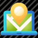 business, map, navigation, online