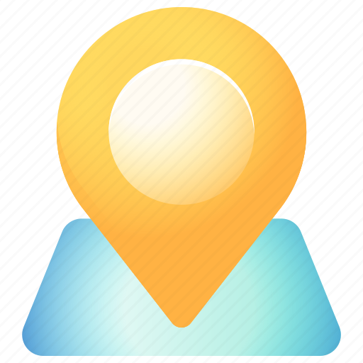 Direction, location, map, navigation, pin, place, pointer icon - Download on Iconfinder
