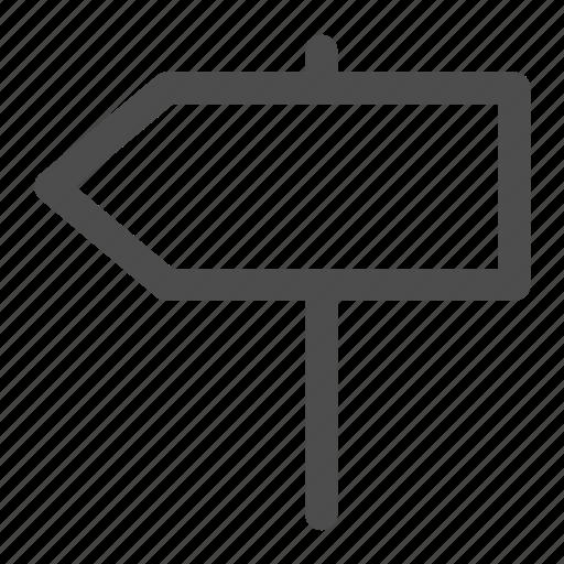 direction, location, panel icon
