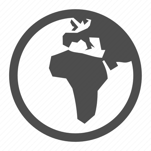 africa, earth, europe, global, globe, international, planet icon