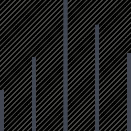 bars, data, graph, menu, report icon