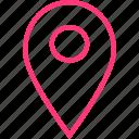gps, locate, location, menu, online, web icon