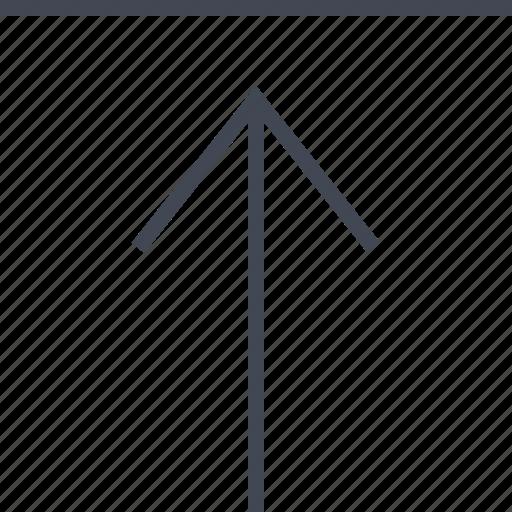 arrow, file, menu, point, pointer, upload icon