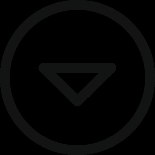 Arrow, arrow circle, circle, down, drop, stroke arrow icon - Free download