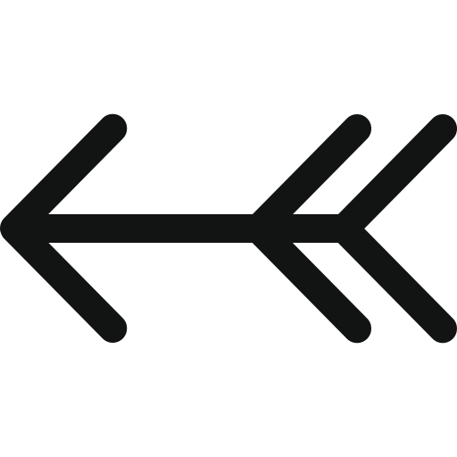ancient arrow, arrow, arrow left, hunting arrow, left, luxurious arrow, vintage arrow icon