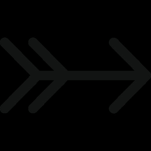ancient arrow, arrow, arrow right, hunting arrow, luxurious arrow, right, vintage arrow icon
