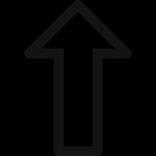 arrow, arrow top, arrow up, border, stroke arrow, stroke arrow right, up icon