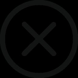 cancel, circle, close, delete icon