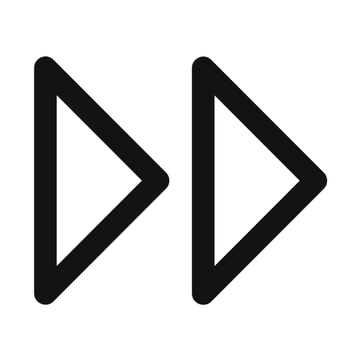 Arrow, double, double arrow, right icon - Free download
