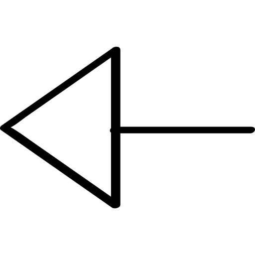 exit, left, poing, pointer icon