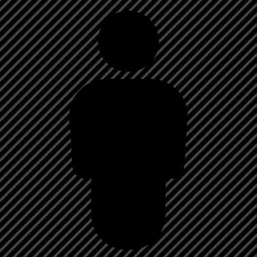account, location, man, person icon