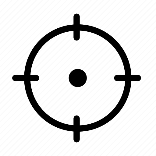 aim, location, navigation, target icon