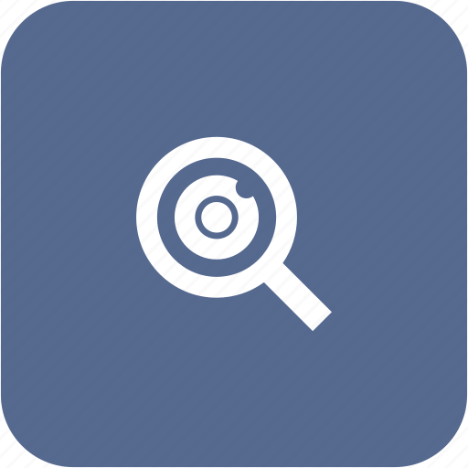 biometry, eye, find, person, pupil, scan icon