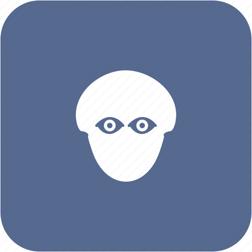biometry, eye, head, man, person, view icon