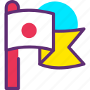 flag, location, location flag, navigation icon icon
