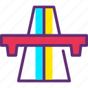 highway, road, travel icon icon