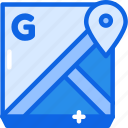 google, gps, map, maps, navigation icon icon