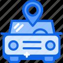 car, signal, transport, wifi icon icon