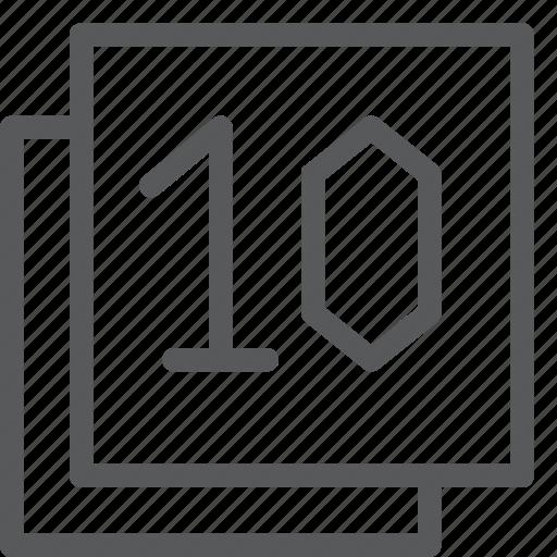 browser, communication, filter, gps, navigation, ten, windows icon