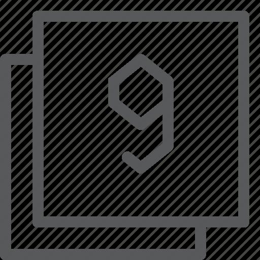 browser, communication, filter, gps, navigation, nine, windows icon