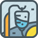 health, hospital, infus, infused, infusion, medical, medicine icon