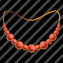 bracelet, gold, necklace, fashion, ruby, jewelry