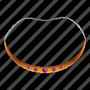 aztec, embroidery, neck, necklace, neckline, tribal