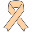 achievement, charity, decoration, freedom, ngo, price, ribbon icon