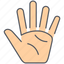 community, fingers, hand, hello, humanitarian, indigenous, ngo icon
