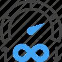web, hosting, server, bandwidth, speed, performance, unlimited icon
