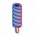 icecream, icecreamiconset, lpoole, neon, popsicle icon