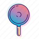dilly bar, icecream, icecreamiconset, lpoole, neon, popsicle icon