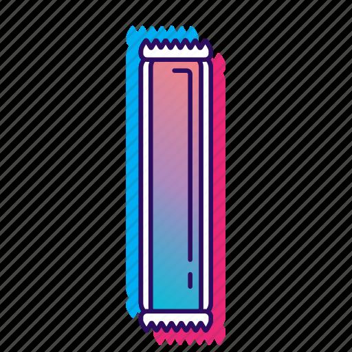 icecream, icecreamiconset, icepop, lpoole, neon, popsicle icon