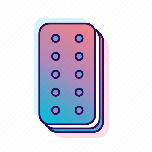 icecream, icecream sandwich, icecreamiconset, lpoole, neon icon