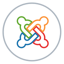neon, social, line, cms, website, blog, joomla icon