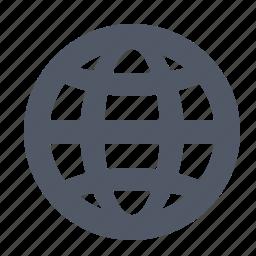 global, globe, grid, internet, web, world-wide icon