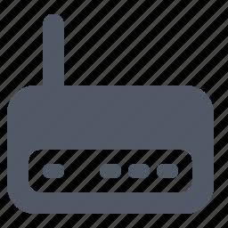 hardware, internet, modem, network, wifi, wireless icon