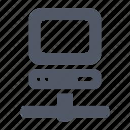 computer, desktop, internet, network, online, pc icon