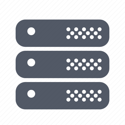 computer, hardware, network, rack, server, system, workstation icon