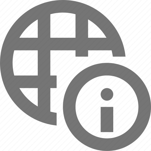 information, network icon