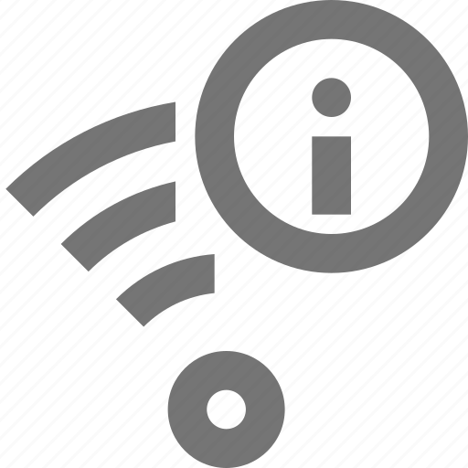 communication, connection, infomation, network, signal, wifi icon