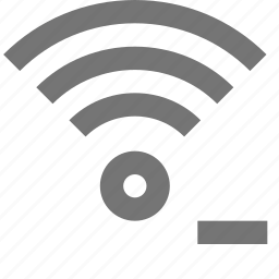 communication, connection, minimize, minus, network, remove, signal, wifi icon