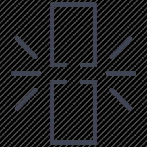 broken, chain, connection, hyperlink, link, network, url icon