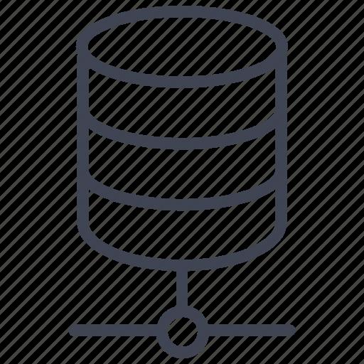data, database, network, server, share, storage icon