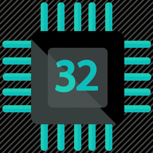 chip, memory, memorychip, network, storage icon
