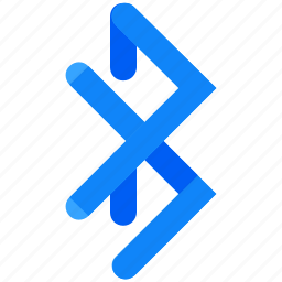 bluetooth, network, receive, send, share icon